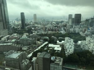 写真:窓からの景色